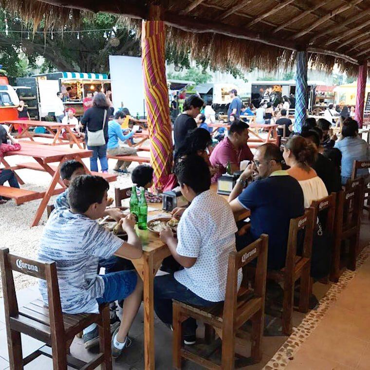 Food truck village