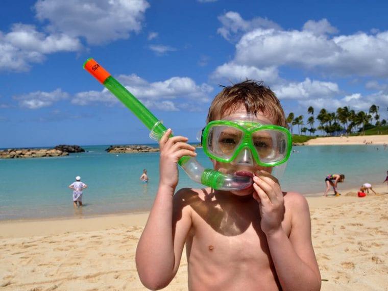 snorkel gear in Playa del Carmen