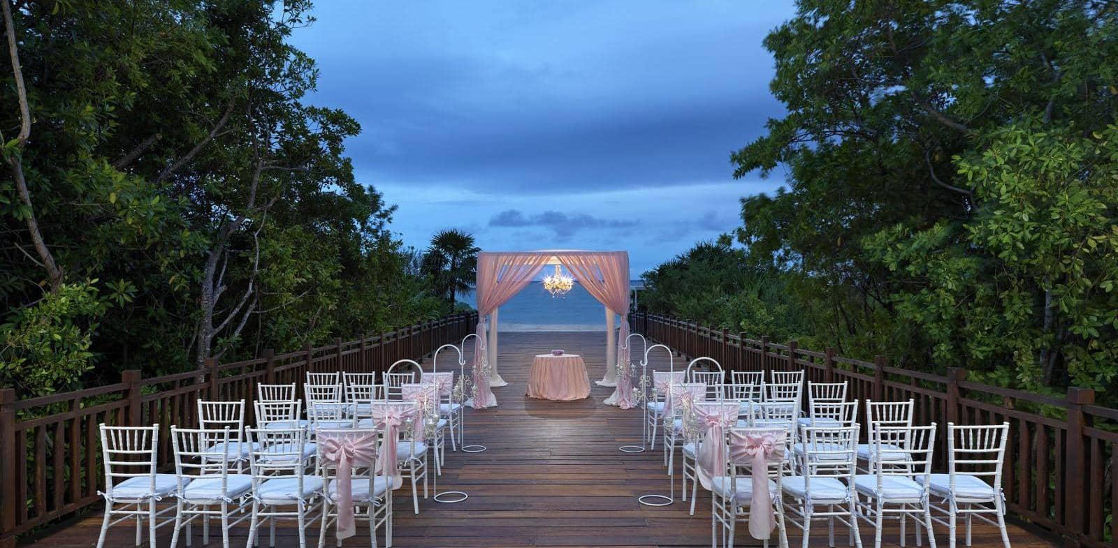 Wedding at The Paradisus resort in Playa del Carmen