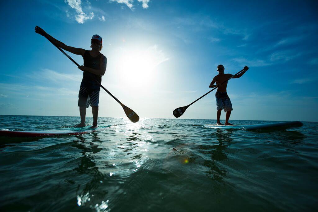 Aloha paddle boarding playa