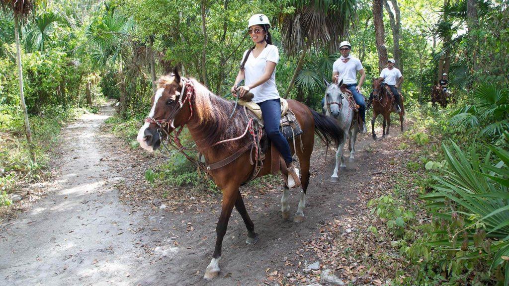Bonanza Ranch Horseback Riding Cancun
