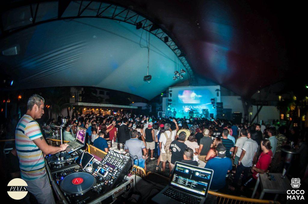 Live DJ Coco Maya Club