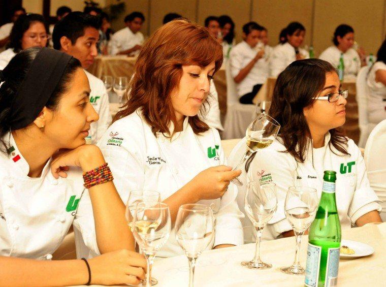 Wine tasting at Riviera Maya Mexican Wine Festival