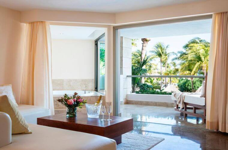rooms excellence playa mujeres wedding