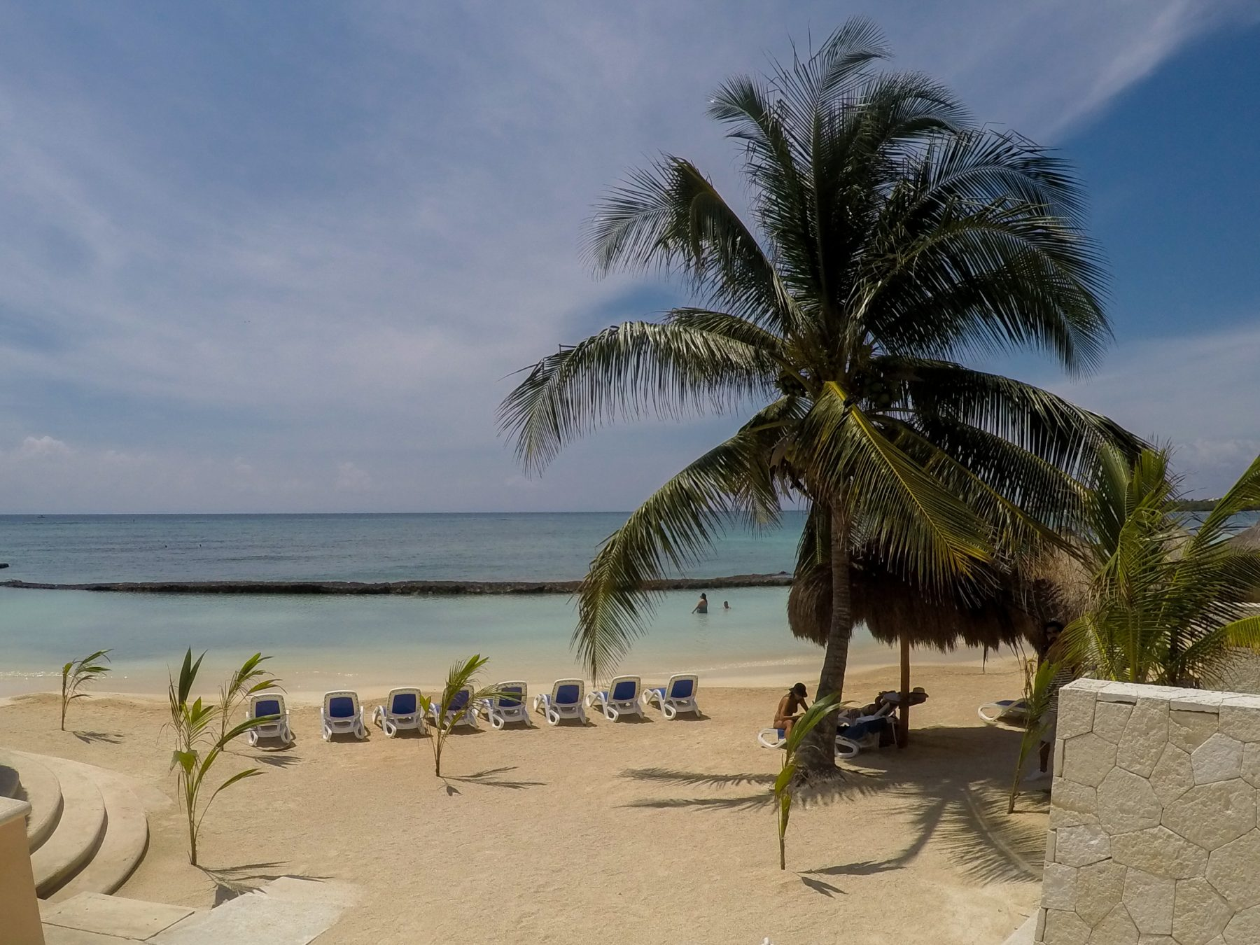 The Hidden Beach of Puerto Aventuras