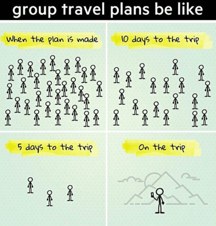Group vacations