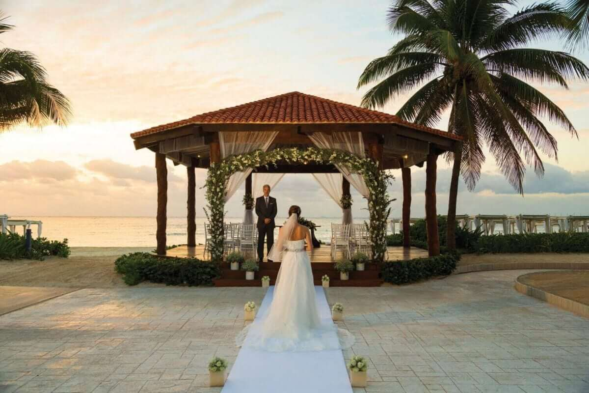 Wedding Gazebo at The Royal Resort in Playa del Carmen