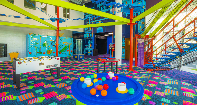 Moon Palace Playroom for Kids