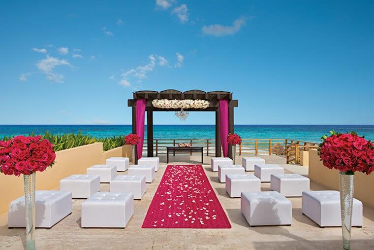 now jade riviera maya wedding