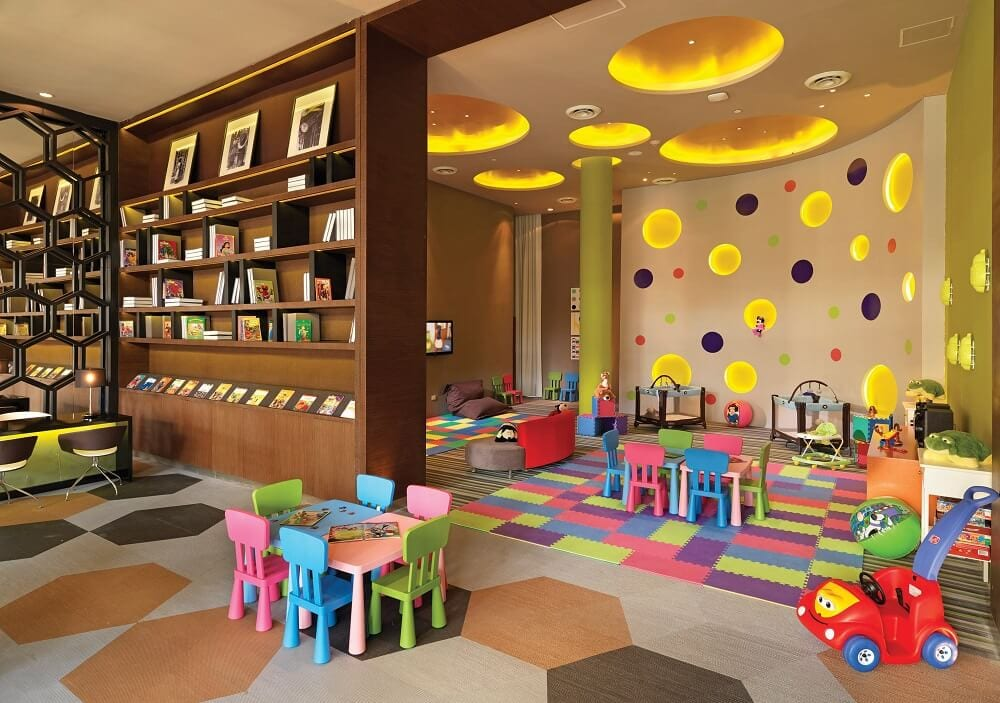 Kids club at La Esmeralda