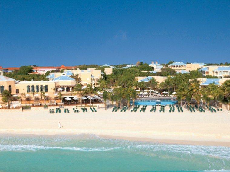 An aerial view of the Royal Hideaway Resort in Playacar, Playa del Carmen