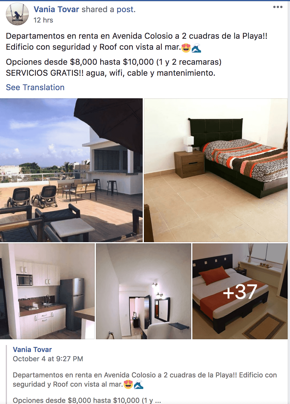 Renting in Playa del Carmen