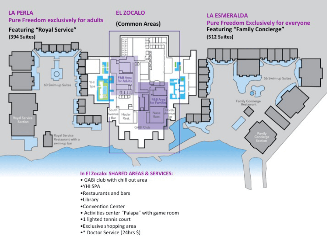 Map of the Paradisus