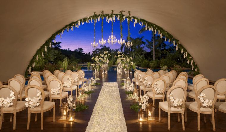 Secrets Akumal wedding location