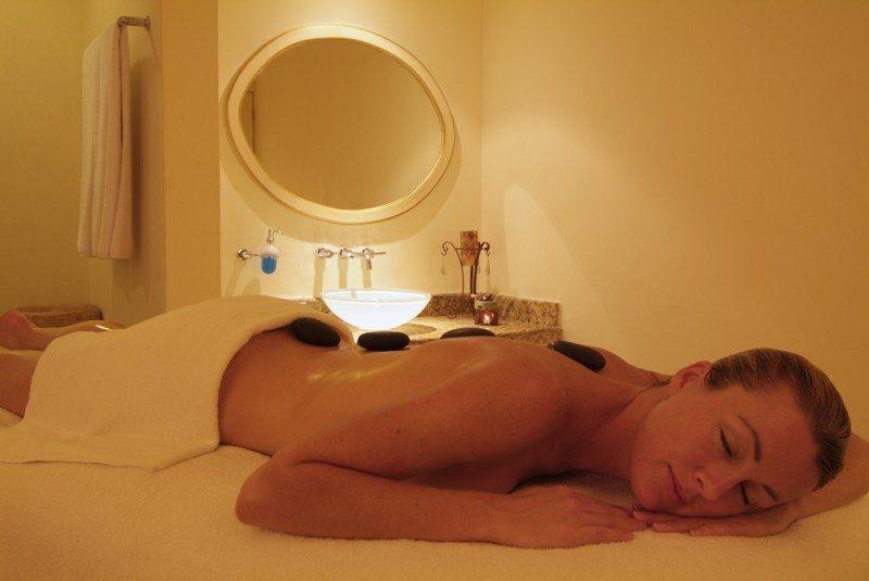 Hot stone massage at The Royal Playa del Carmen