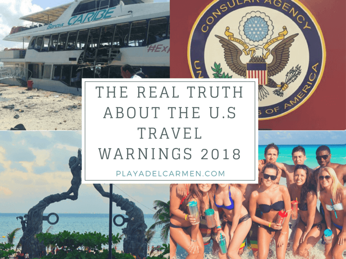 The real truth about the U.S travel warnings 2018