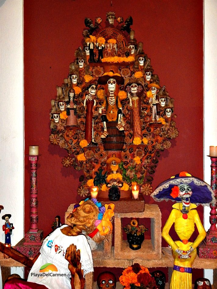 Decorations at Xcaret