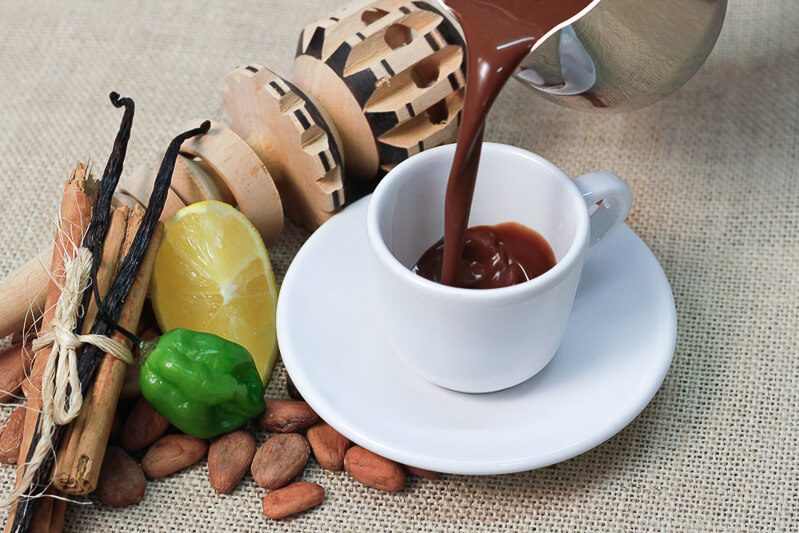Ah Cacao hot chocolate