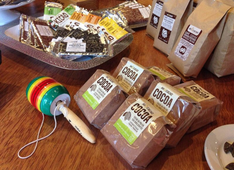 Ah Cacao Chocolate Cafe Products