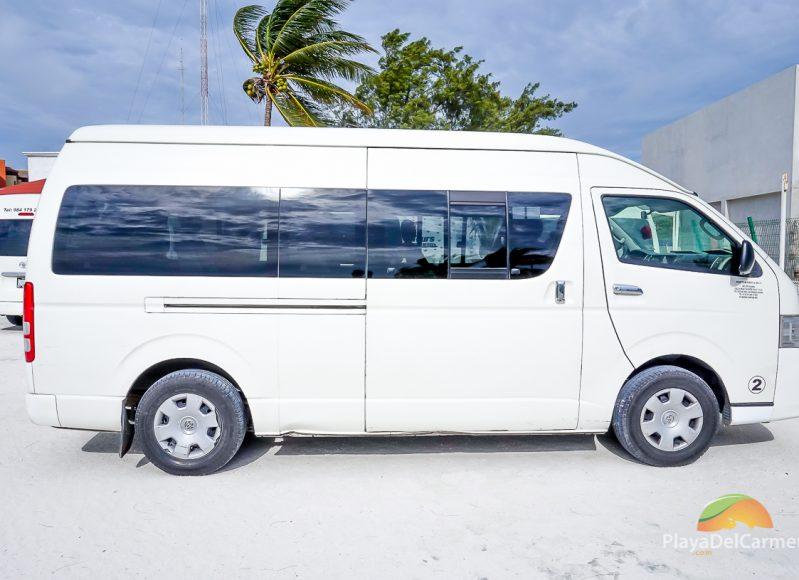 Playa del Carmen airport transfers vehicle