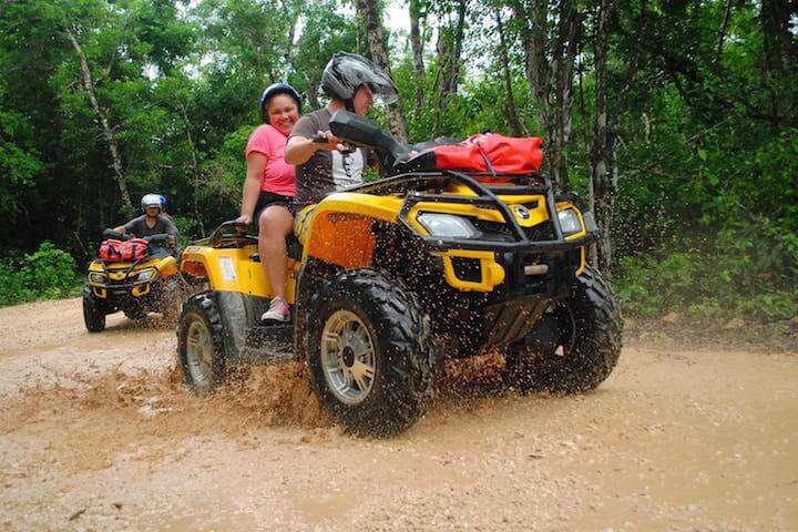 ATV and Zip Line Playa del Carmen tours