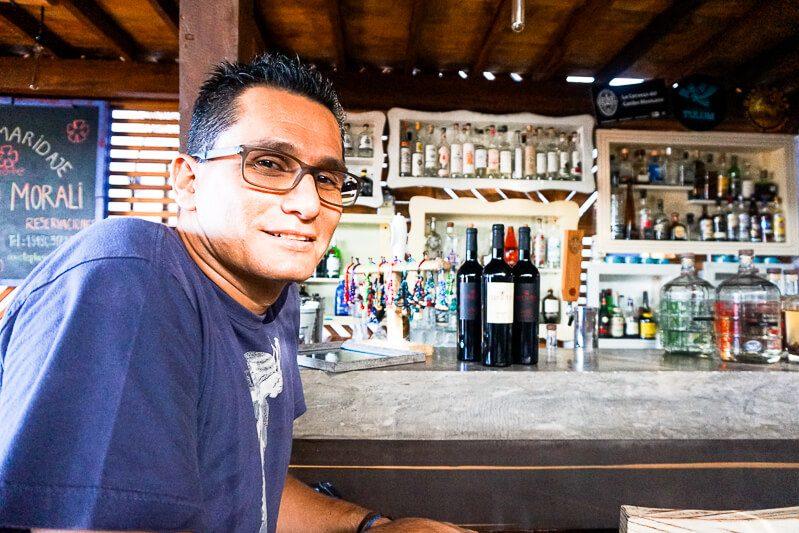 Chef Xavier Perez Stone from Axiote Playa del Carmen