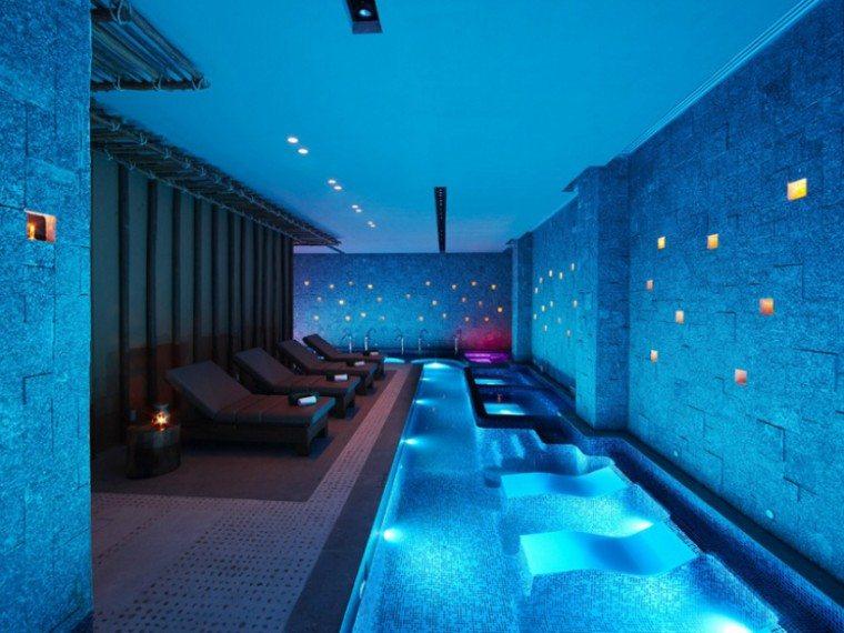 The spa at Banyan Tree Mayakoba in Mexico's Riviera Maya