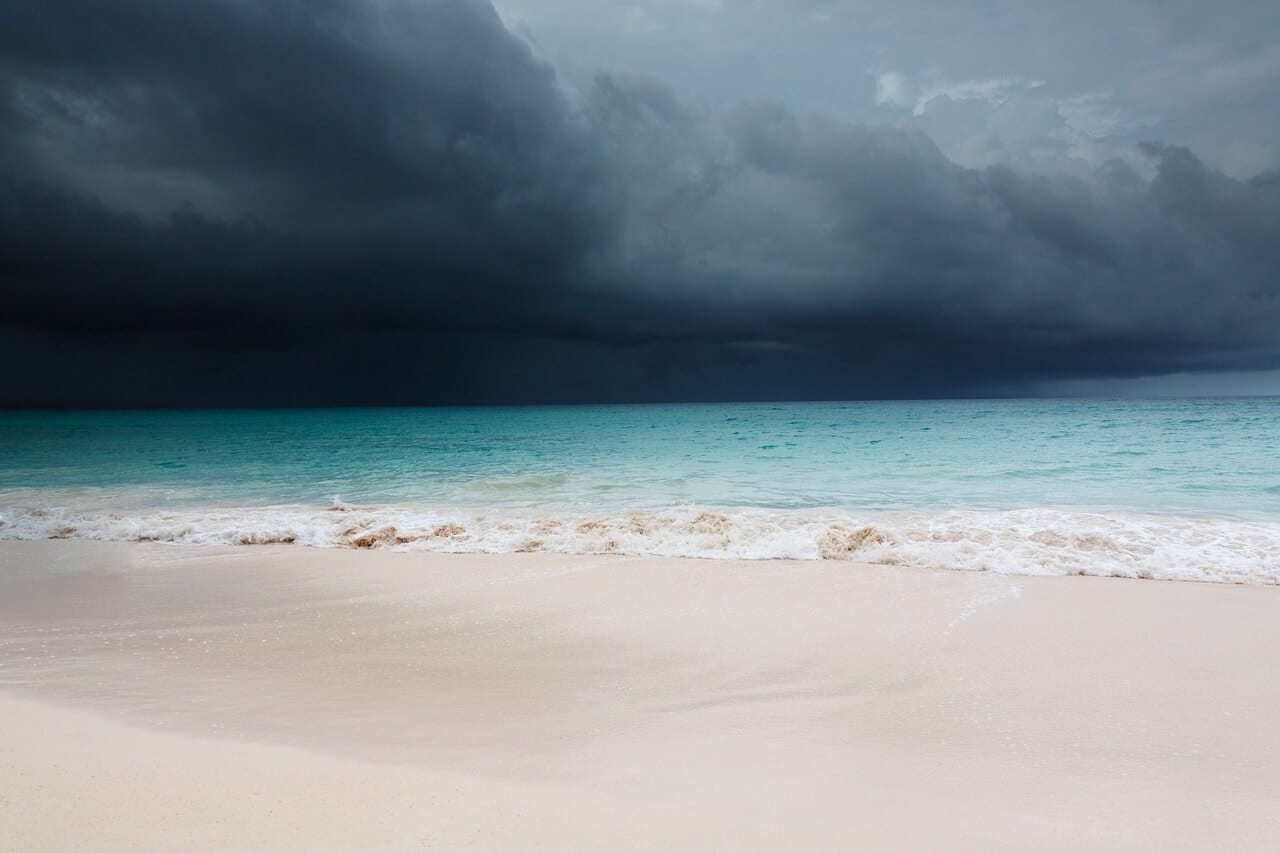 rain in the riviera maya