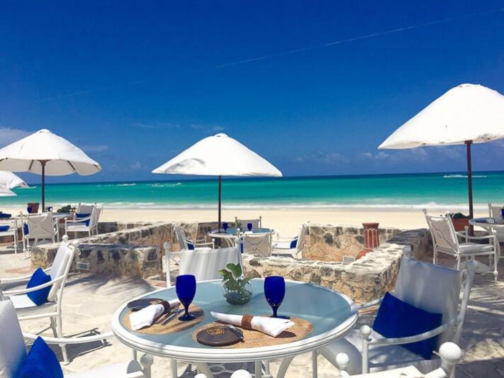 Belmond Maroma oceanfront restaurant