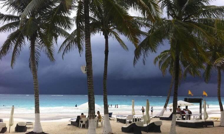 Playa Paraiso beach club tulum