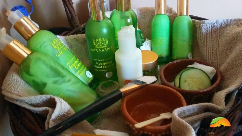 all natural spa products at the BRIC spa