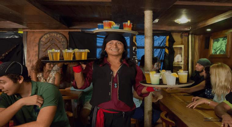 Captain Hook open bar