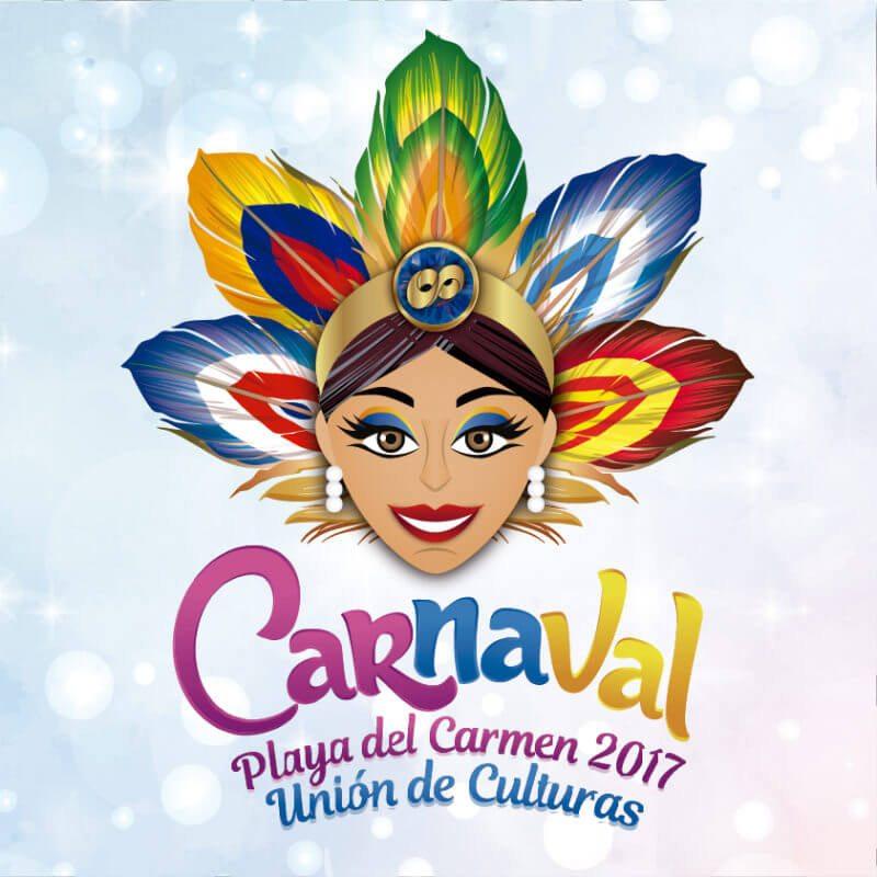 Carnival Playa del Carmen 2017 poster