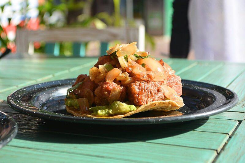 Seafood at Las Hijas de la Tostada