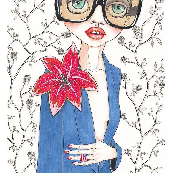 Charles Hart-Benton fashion illustration