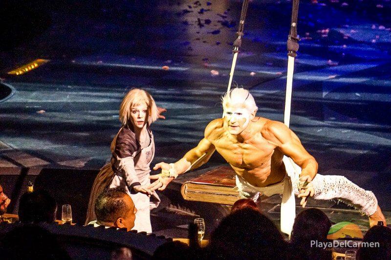Joya show at Mexico's Cirque Du Soleil theater