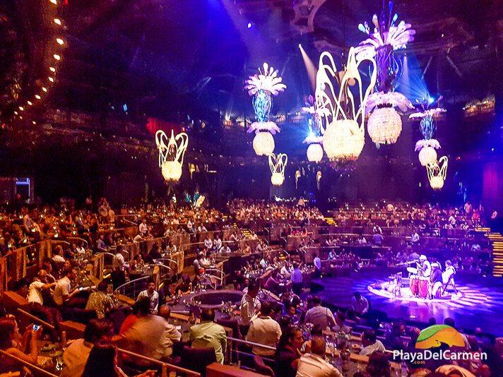 Cirque Du Soleil Riviera Maya seating