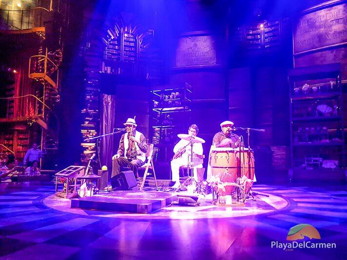 Cuban musicians play opening act at Cirque Du Soleil Riviera Maya