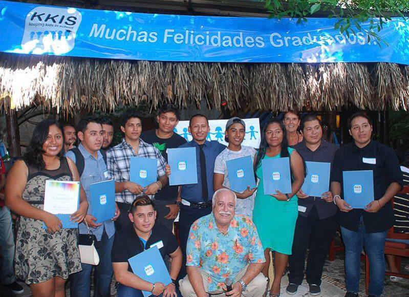 K.K.I.S. project team in Playa del Carmen