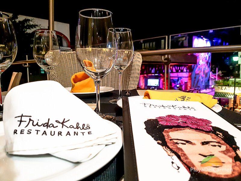 Table at Frida Kahlo Restaurant