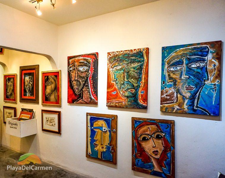 Art Gallery Gaston Charo Playa del Carmen