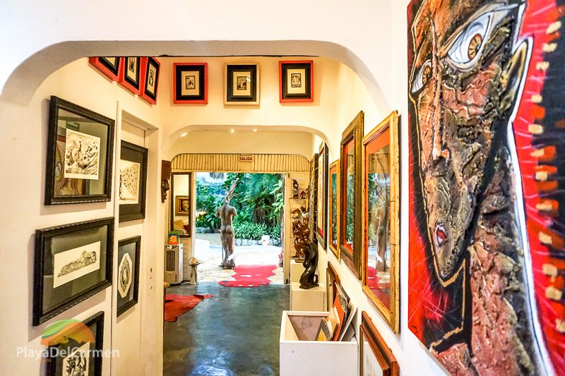 Gaston Charo Art Gallery Playa del Carmen