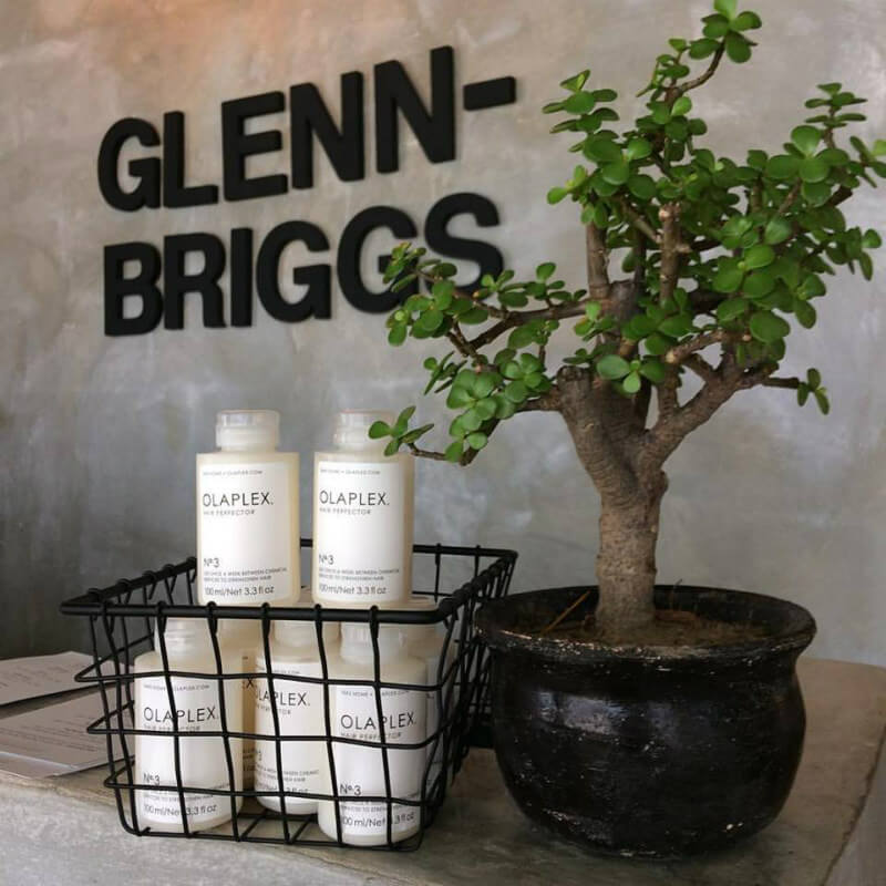 Glenn briggs salon combines hospitality hair styling in for Adel salon services