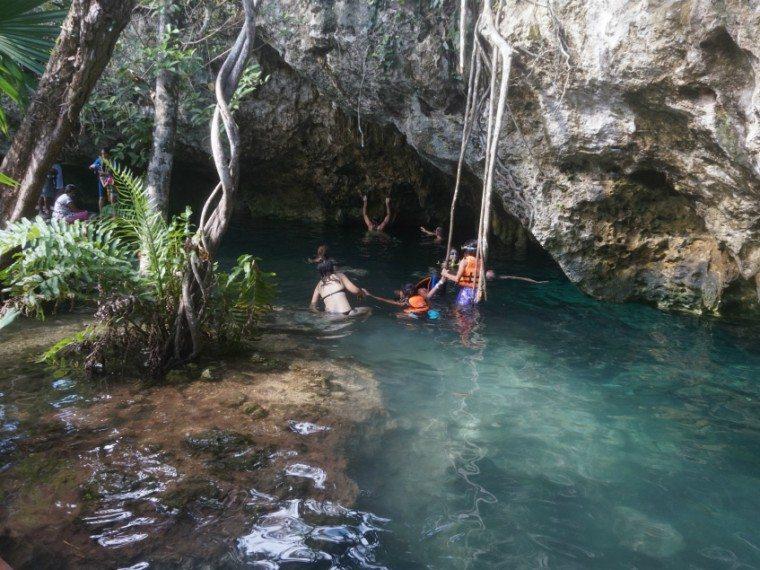 Gran Cenote semi-open sinkhole