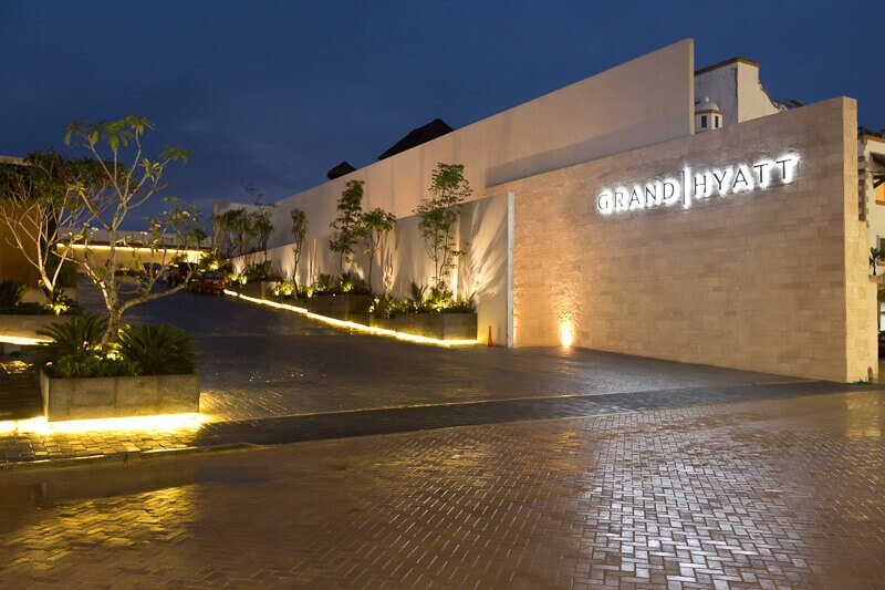 Grand Hyatt Playa del Carmen resort entrance