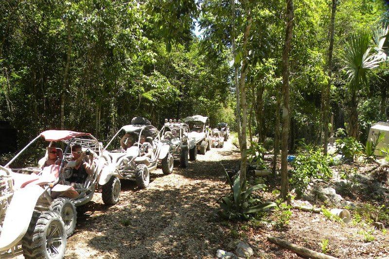Jungle Buggy tour in Playa del Carmen