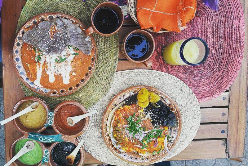 Mexican food at La Perla Pixan