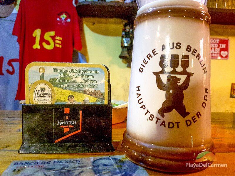 Manne's Biergarten beer