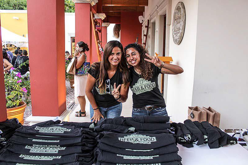 Mayakoba Beer & Street Food Fest t-shirts