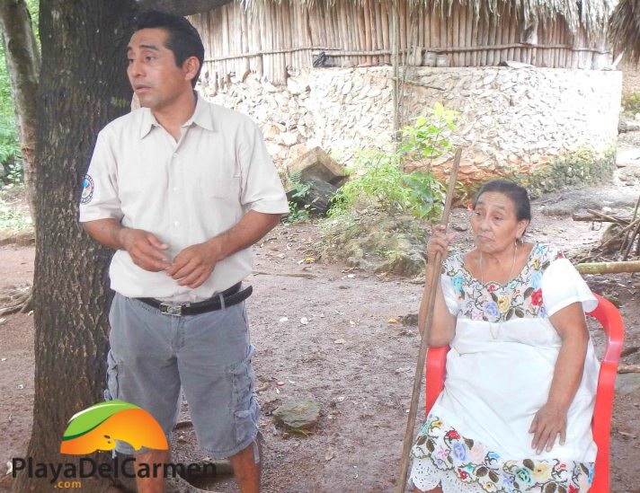 People in the mayan villages